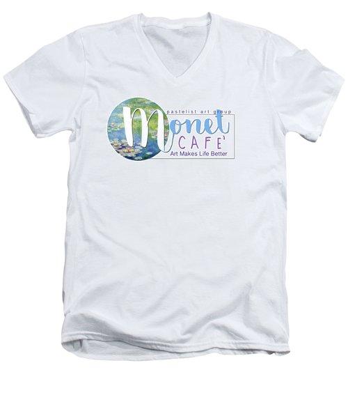 Monet Cafe' Products Men's V-Neck T-Shirt