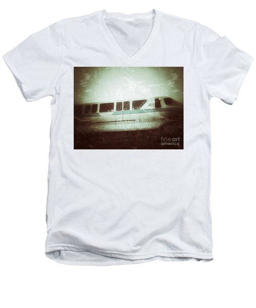 Monorail Men's V-Neck T-Shirt