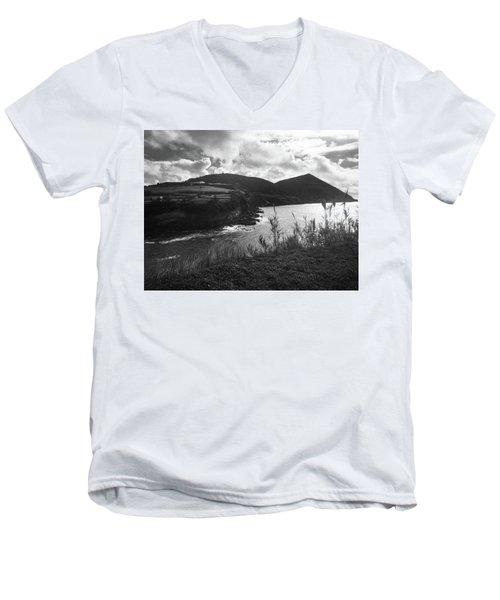 Monte Brasil, Terceira Men's V-Neck T-Shirt