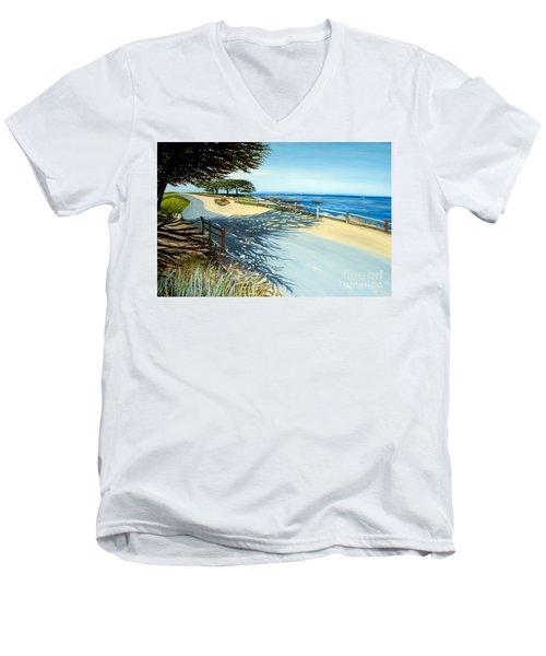 Monterey Shadows Men's V-Neck T-Shirt