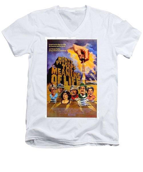 Monty Python Men's V-Neck T-Shirt