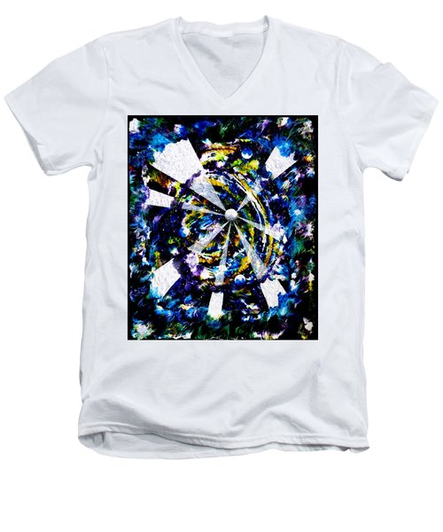 Moon Dance Men's V-Neck T-Shirt