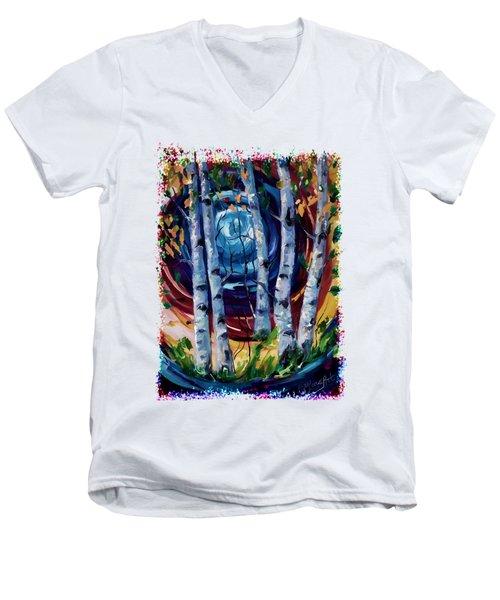 Moonlight Sonata Men's V-Neck T-Shirt