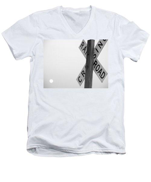 Moonshine Crossing Men's V-Neck T-Shirt