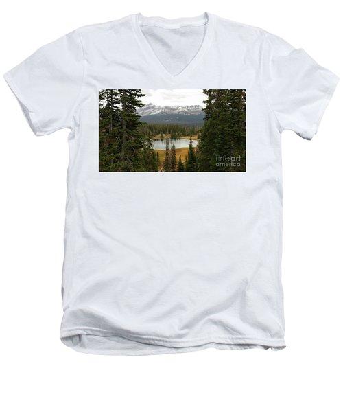 Moosehorn Lake Men's V-Neck T-Shirt