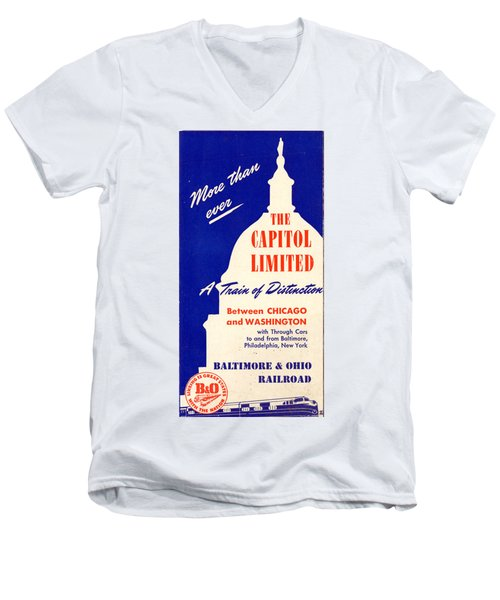 More Than Ever, The Capitol Limited Men's V-Neck T-Shirt