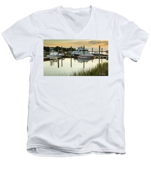 Morgan Creek Men's V-Neck T-Shirt
