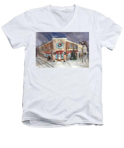 Morkes Christmas 2017 Men's V-Neck T-Shirt