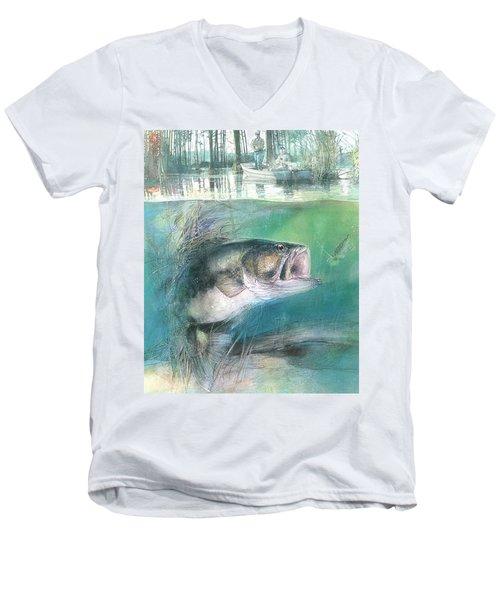 Morning Catch Men's V-Neck T-Shirt