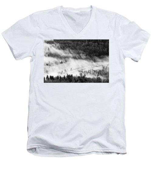 Morning Fog Men's V-Neck T-Shirt