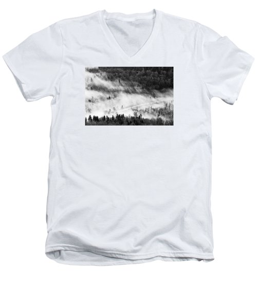 Morning Fog Men's V-Neck T-Shirt