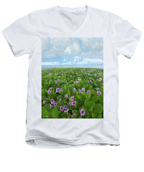 Morning Glories Men's V-Neck T-Shirt