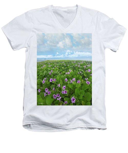 Morning Glories Men's V-Neck T-Shirt