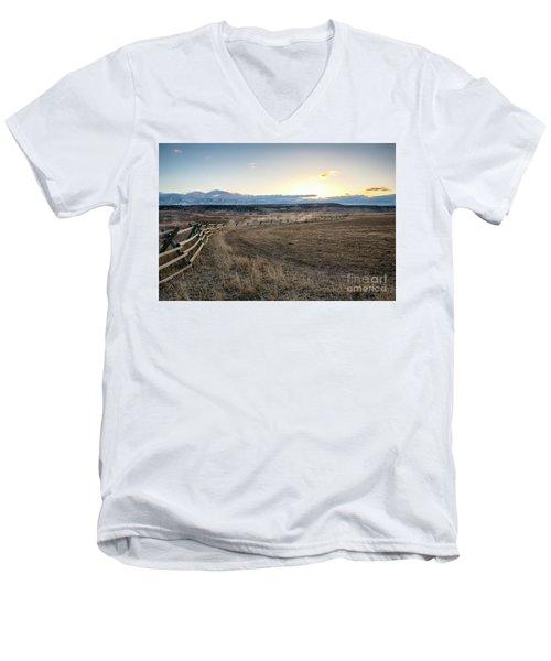 Morning Grace Men's V-Neck T-Shirt