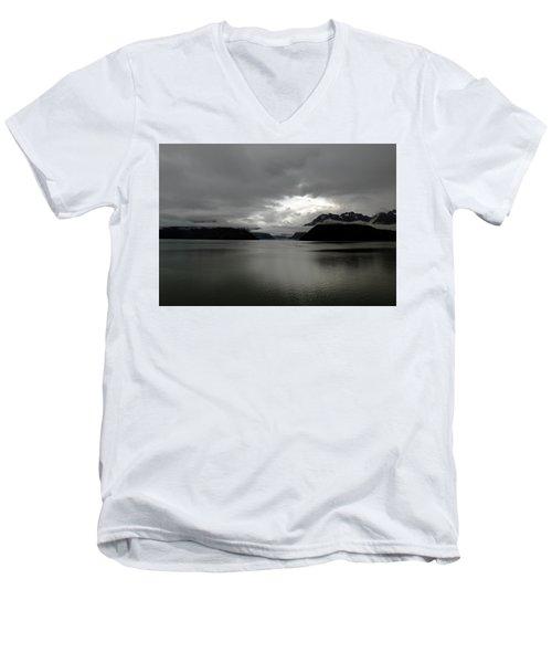 Morning In Alaska Men's V-Neck T-Shirt