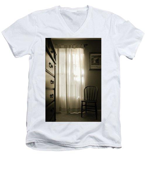 Morning Light Through The Window Men's V-Neck T-Shirt