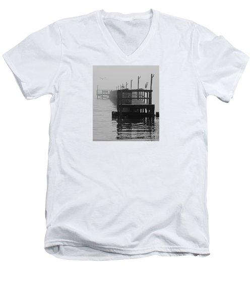Morning Meeting Men's V-Neck T-Shirt