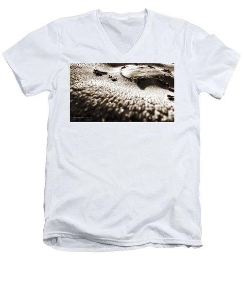 Morning Mushroom Top Men's V-Neck T-Shirt