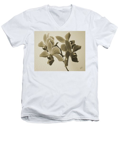 Morning Orchid Men's V-Neck T-Shirt