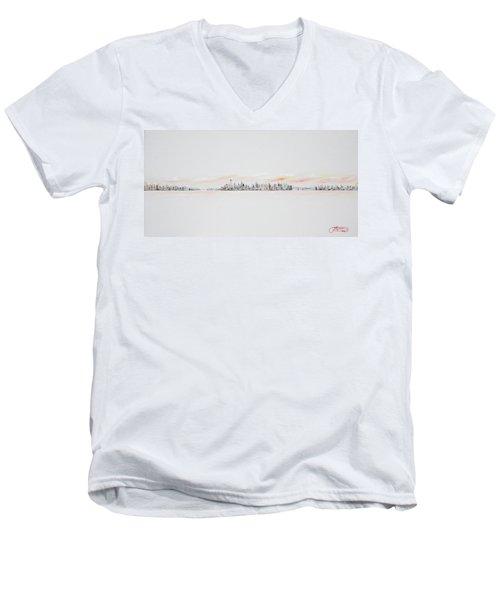 Morning Sky Men's V-Neck T-Shirt