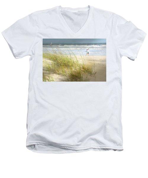 Mid Morning Stroll Men's V-Neck T-Shirt