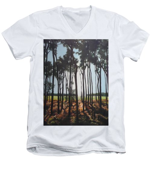 Morning Walk. Men's V-Neck T-Shirt