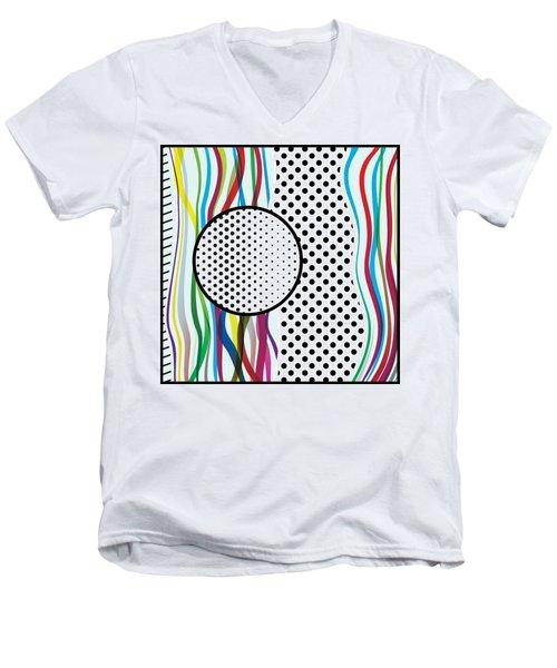 Morris Pop-art Men's V-Neck T-Shirt