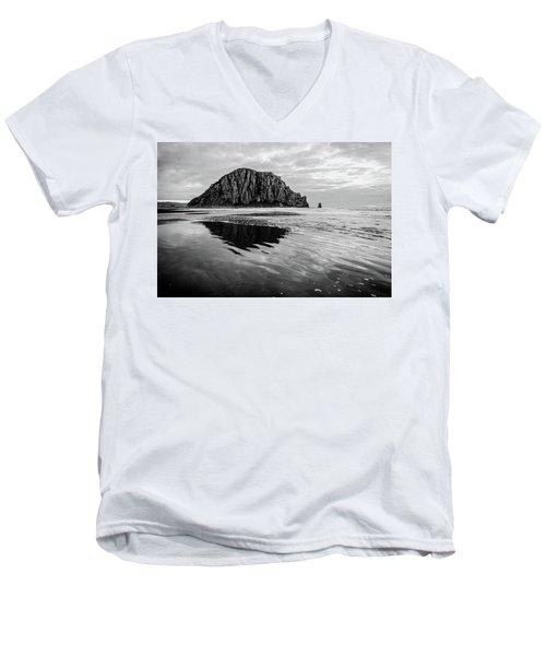 Morro Rock II Men's V-Neck T-Shirt