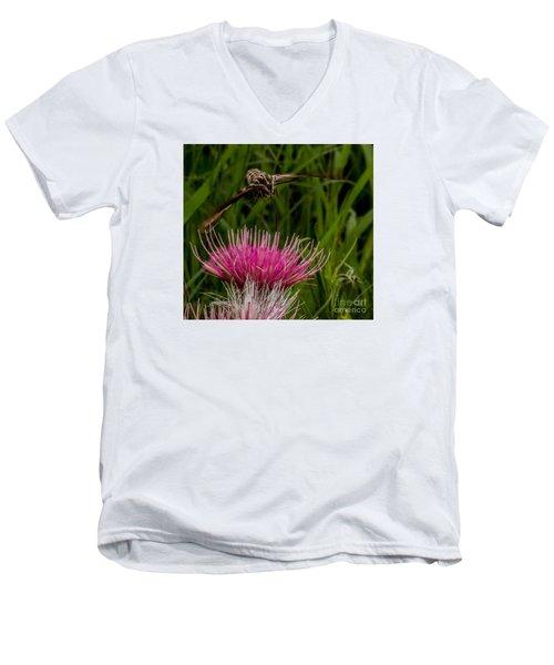 Moth 1 Men's V-Neck T-Shirt