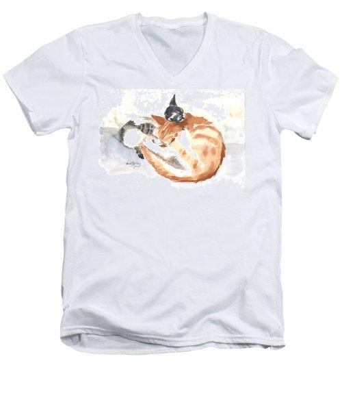 Mother Teresa Men's V-Neck T-Shirt