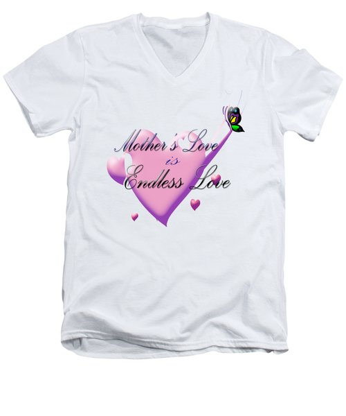 Mother's Love Men's V-Neck T-Shirt