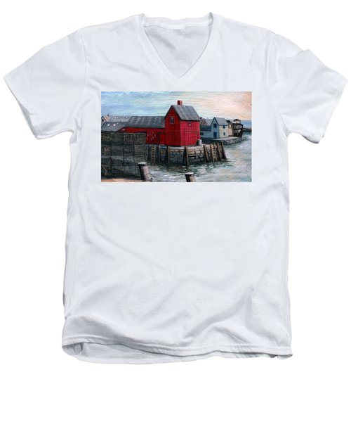 Motif No.1 Men's V-Neck T-Shirt
