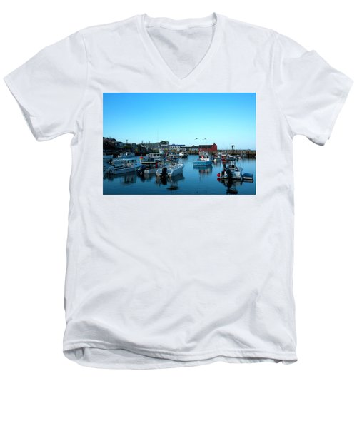 Motif Number 1 Men's V-Neck T-Shirt