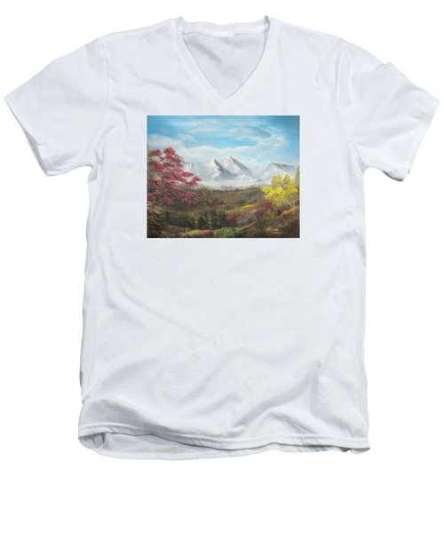 Mountain High Men's V-Neck T-Shirt
