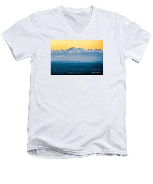 Mountain Scenery 7 Men's V-Neck T-Shirt