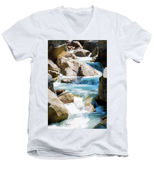 Mountain Spring Water Men's V-Neck T-Shirt