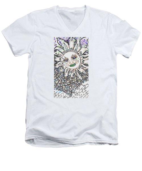 Mountain Sun Men's V-Neck T-Shirt