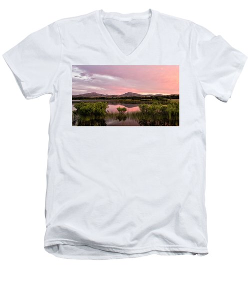 Mountain Sunrise Men's V-Neck T-Shirt