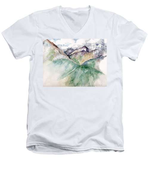 Mountain View Colorado Men's V-Neck T-Shirt
