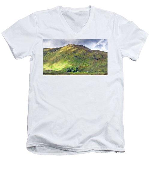 Mountains Of Ireland Men's V-Neck T-Shirt