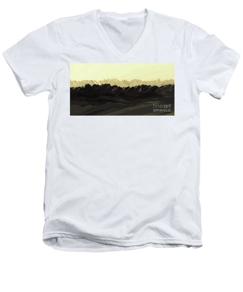 Mountains Of The Mohave Men's V-Neck T-Shirt