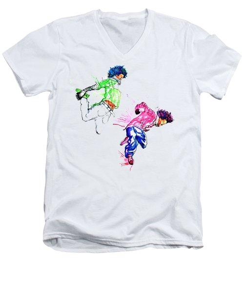 Move It Men's V-Neck T-Shirt