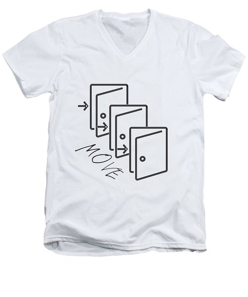 Move Men's V-Neck T-Shirt