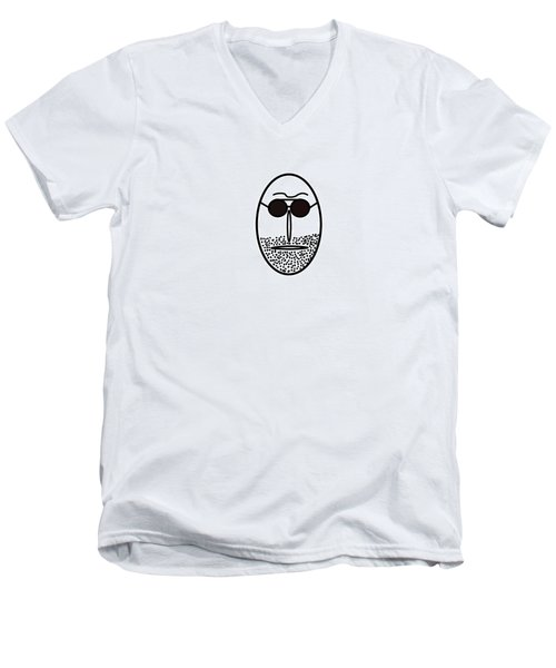 Mr Mf Is A Regular Latinlover  Men's V-Neck T-Shirt