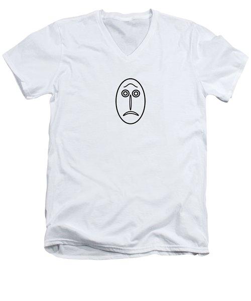 Mr Mf Is Helpless Men's V-Neck T-Shirt