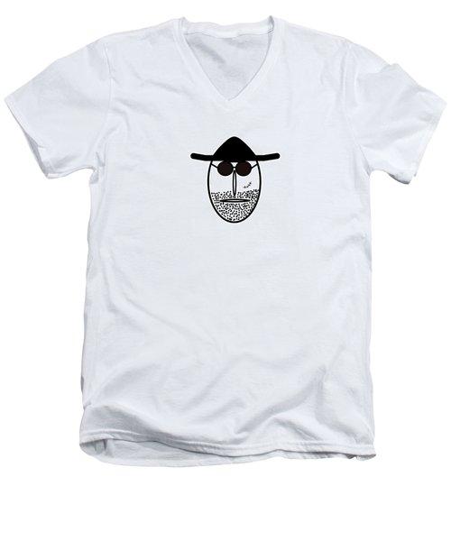 Mr Mf Is Scarface  Men's V-Neck T-Shirt