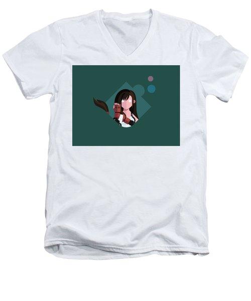 Ms. Lockhart Men's V-Neck T-Shirt