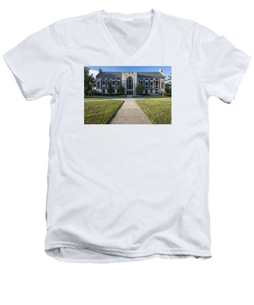 Msu Campus Summer Men's V-Neck T-Shirt