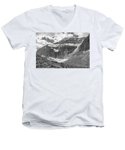 Mt. Edith Cavell Men's V-Neck T-Shirt