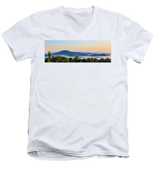 Mt. Jefferson Cloud Lake Men's V-Neck T-Shirt